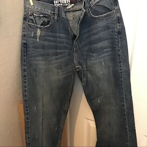 Men's Urban Pipeline Distressed Jeans